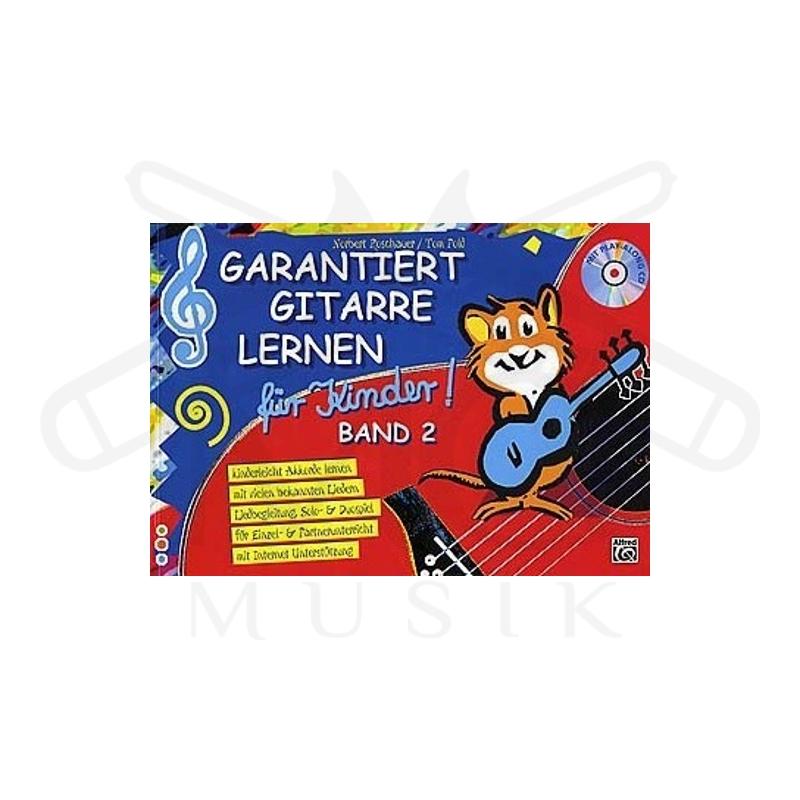 garantiert gitarre lernen fuer kinder 2 cd g nstig kaufen im online shop f r musikinstrumente. Black Bedroom Furniture Sets. Home Design Ideas