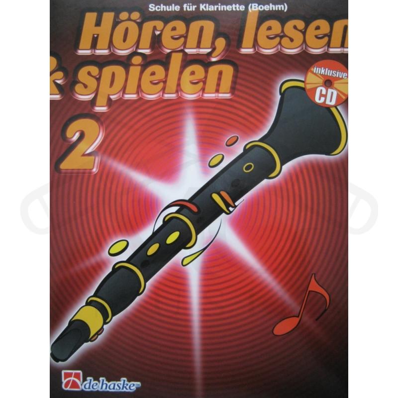 Hoeren lesen & spielen 2 Schule Klarinette Oehler CD ...