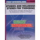 Tanner Studies and melodious etudes for trombone 3 BIC00357A