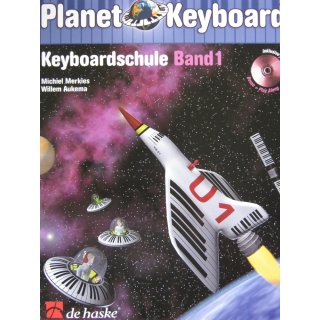 Merkies Planet Keyboard Keyboardschule 1 CD DHP1023232