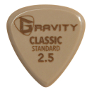Gravity Plektrum Classic Gold Standard 2,5mm