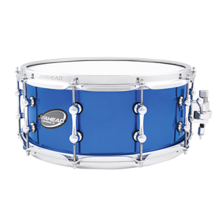 Ahead AS614CB Snare Drum 14x 6 Chrome Blue Brass