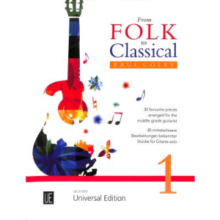 Coles From Folk to Classical 1 UE21673