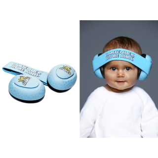Thunderplugs Baby Banana Muffs, blau