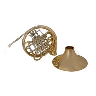 John Packer JP261D RATH French Horn Bb/F Lacquer Detachable Bell