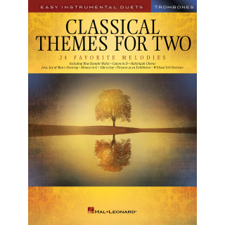 Classical Themes for Two 2 Posaunen HL254443