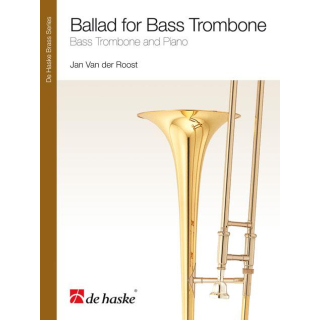 Jan Van der Roost- Ballad for Bass Trombone DHP1125304