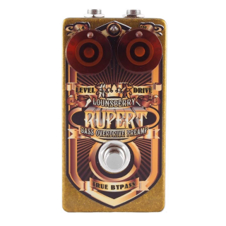 Lounsberry Pedals RBO-1 Rupert bass overdrive preamp with two outputs