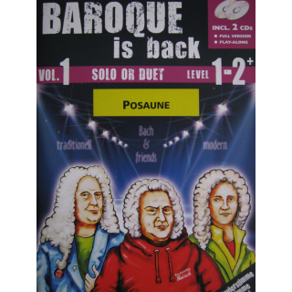 Baroque is back! Vol 1 Anfänger Posaune CD RAISCH1003