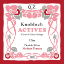 Knobloch 300KAQ Double Silver QZ strings set classic MT