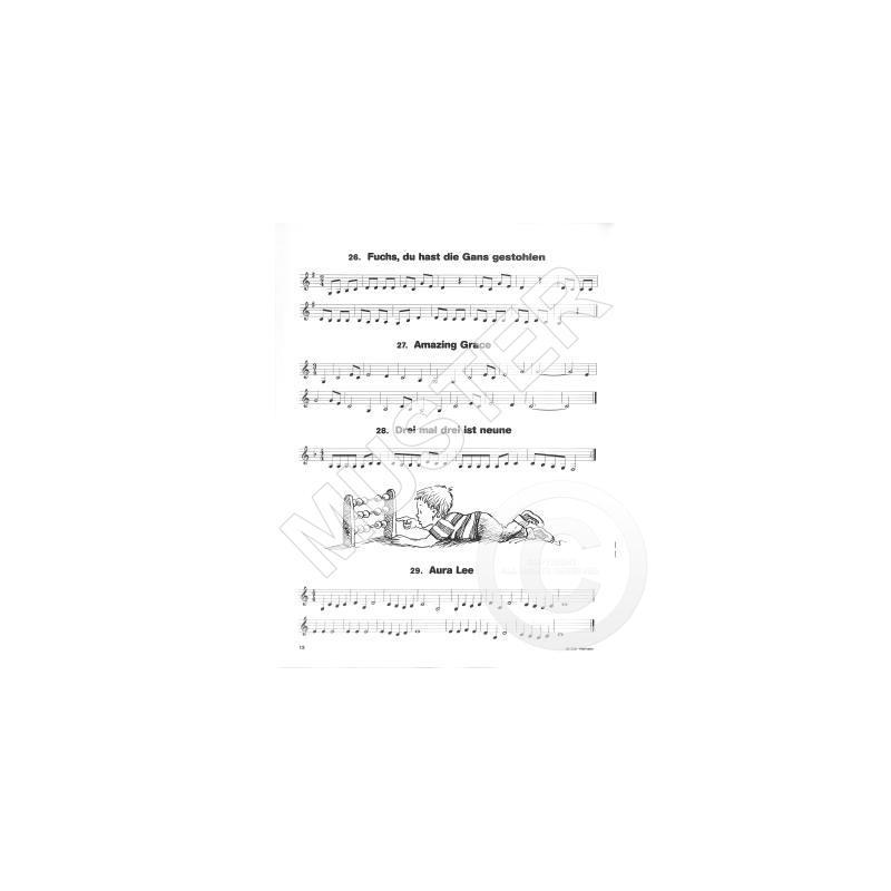 Hören lesen & spielen 1 - Liederspielbuch Klarinette ...