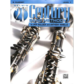 Bullock 21st century band method 1 Clarinet EL-B21104