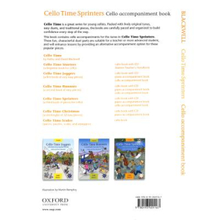 Blackwell Cello time sprinters 3 Cello accompaniment book