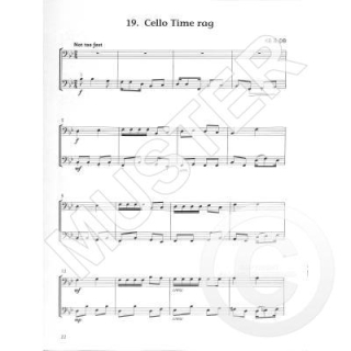 Blackwell Cello time runners 2 accompaniment book