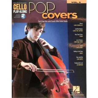 Pop covers Vol 5 Cello inkl Online Audio HL194644