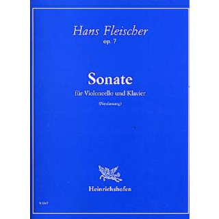 Fleischer Sonate op 7 Cello Klavier N5547