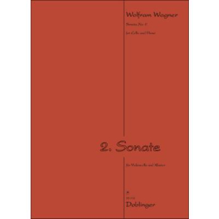 Wagner Sonate 2 Cello Klavier DO33757