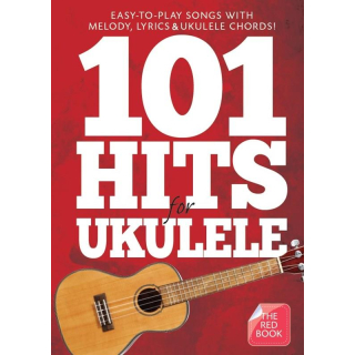 101 Hits for Ukulele (Red Book) AM1008062