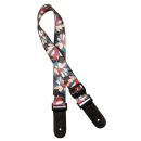 Gaucho GSTU-80-MC Ukulele Strap multicolor flowers