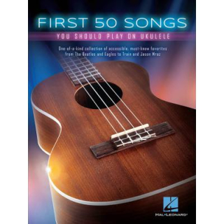 First 50 songs you should play on Ukulele HL149250