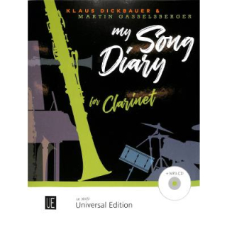Dickbauer My Song Diary Clarinet CD UE38051