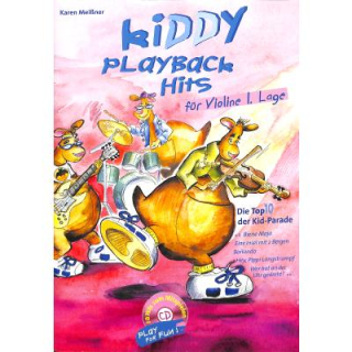 Meissner Kiddy Playback Hits für Violine CD EM5645