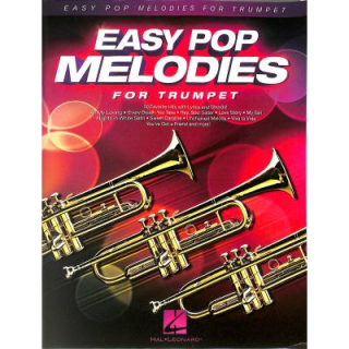 Easy Pop Melodies for Trumpet HL125788