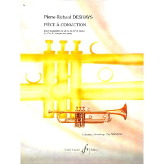 Deshays Piece a Conviction Trompete Klavier GB8794