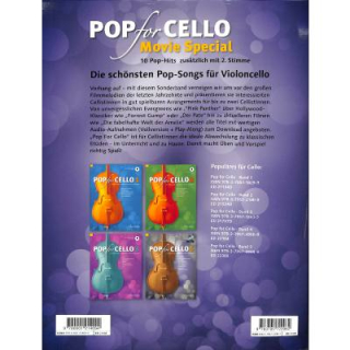 Pop for Cello Movie special mit Online Audio ED23488