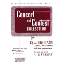Concert and Contest Collection Eb BBb Bass by Voxman...