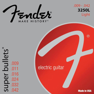 Fender 3250L Super Bullets string set electric