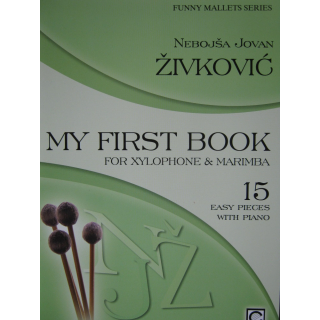 Zivkovic My First Book Xylophone & Marimba M1019