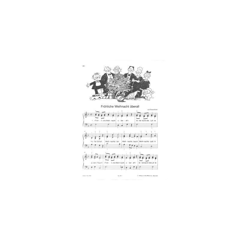 Kaluza Ricos Weihnachtslieder für Klavier - günstig kaufen im Online ...