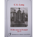 C.S. Lang Tuba Tune in D major op 15 Orgel  Willemsen730