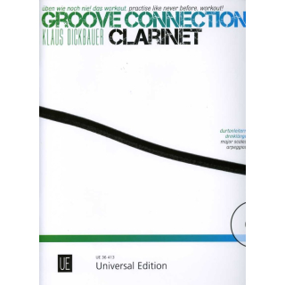 Dickbauer Groove connection Klarinette CD UE36413