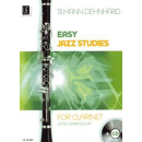 Dehnhard Easy jazzy studies Klarinette CD UE35996