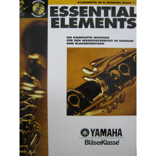 Essential Elements 1 Klarinette B Boehm CD DHE0565-00-400