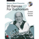 Mead Presents 20 Dances Euphonium CD DHP1002381