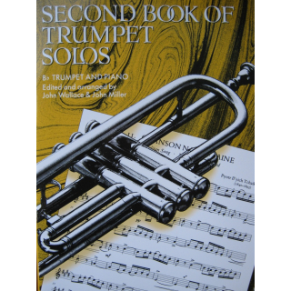 Wallace Second Book of Trumpet Solos Trompete Klavier FM857