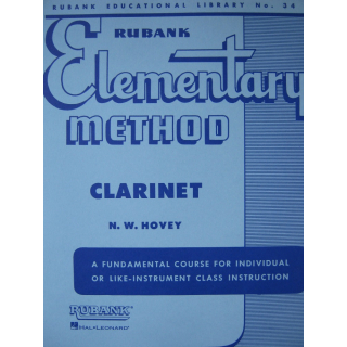 Hovey Elementary Method Klarinette HL4470000
