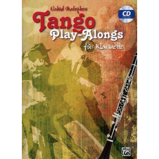 Matejko Tango play alongs Klarinette CD ALF20239G