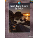 Burns Irish folk tunes Gitarre CD ED13571