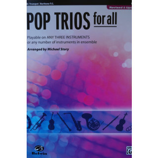 Pop Trios for all by Michael Story Trompete oder Bariton ALF30702
