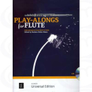 Gisler Play alongs for Flute CD UE36655