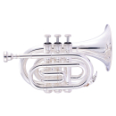 John Packer JP159 Bb Pocket Trumpet silver