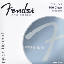 Fender 100 clear Medium Saiten Set