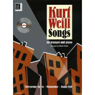 Weil SONGS Trp Klav CD UE34327