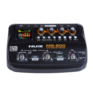 nuX MG-200 Modeling Guitar Effects Processor
